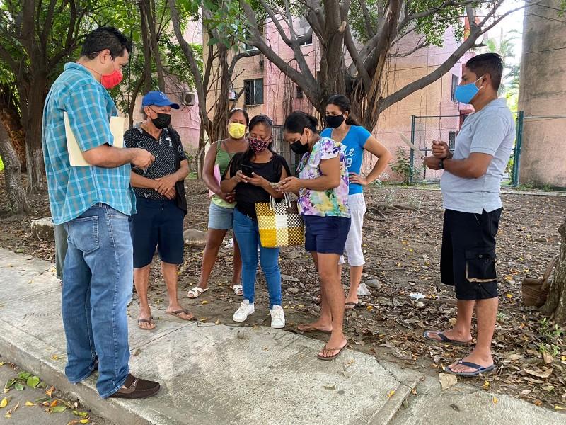 Habitantes de Los Tamarindos piden ayuda del TCA