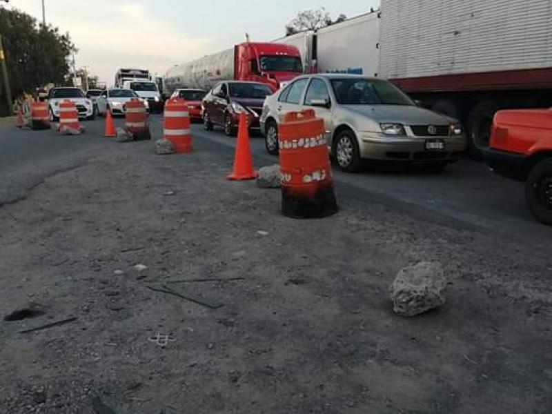Habitantes de Palma de Romero cierran acceso a vehículos