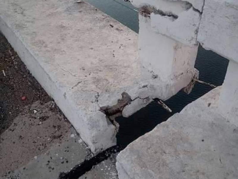 Habitantes de Tecuala denuncian falta de mantenimiento de puente