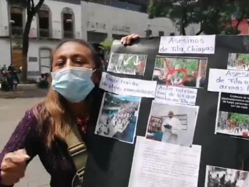 Habitantes de Tila piden intervención presidencial para establecer la paz