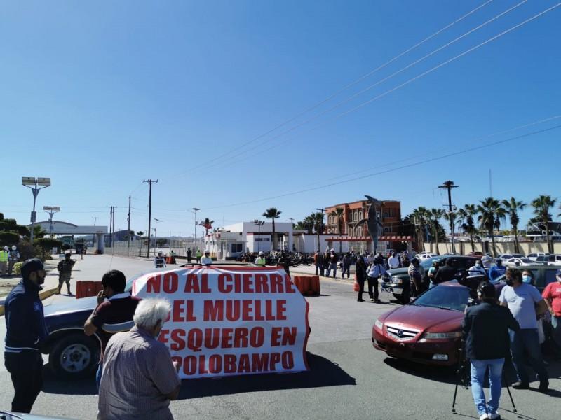 Habitantes de Topolobampo esperan respuesta de API, quieren dialogar