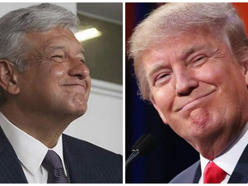 Habla Trump por teléfono con López Obrador