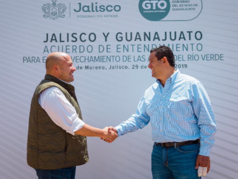 Habrá agua para Guanajuato y Jalisco