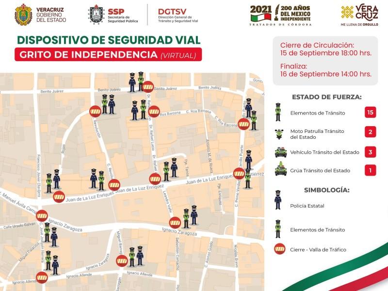 Habrá cierre del centro de Xalapa 15 y 16
