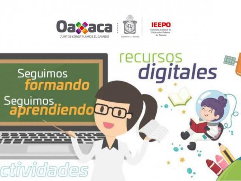Habrá clases en linea en Oaxaca
