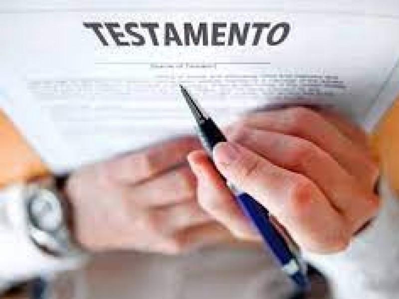 Habrá descuentos en testamentos durante el mes de septiembre