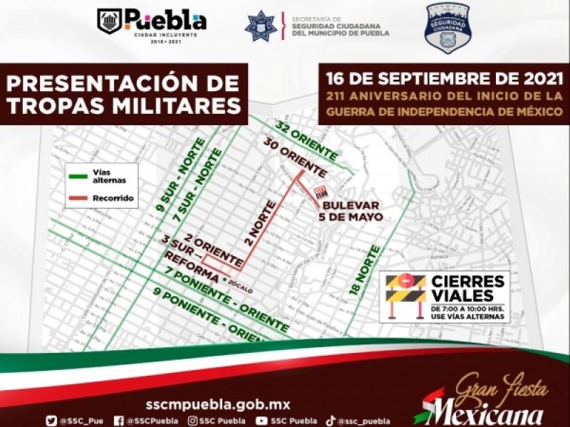 Habrá desfile del 16 de septiembre en Centro Histórico; Ayuntamiento