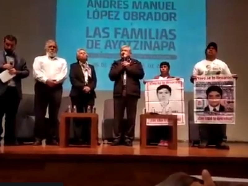 Habrá justicia en el caso Iguala: AMLO