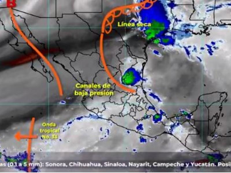 Habrá lluvias en el centro y norte del país: SMN