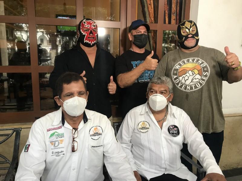 Habrá lucha libre de manera presencial en Veracruz