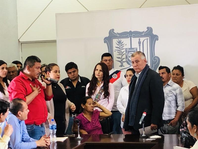 Habrá manifestación el lunes, advierte Diputado Jorge Armando