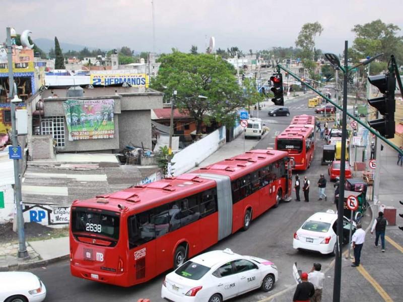 Habrá Metrobús emergente sobre Av. Tláhuac tras colapso en L-12