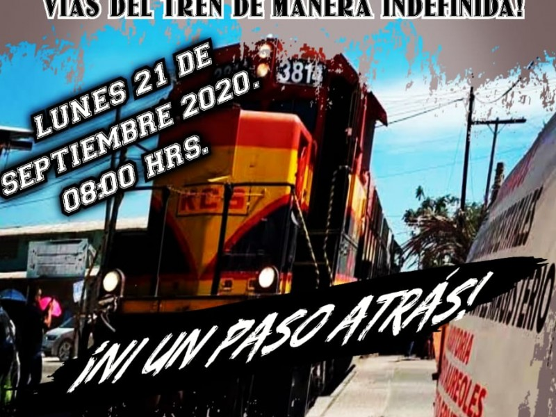 Habrá nuevos bloqueos este lunes en vías del tren: CNTE