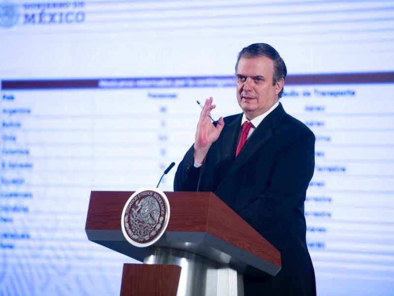 Habrá restricciones en la frontera con EE.UU: Marcelo Ebrard