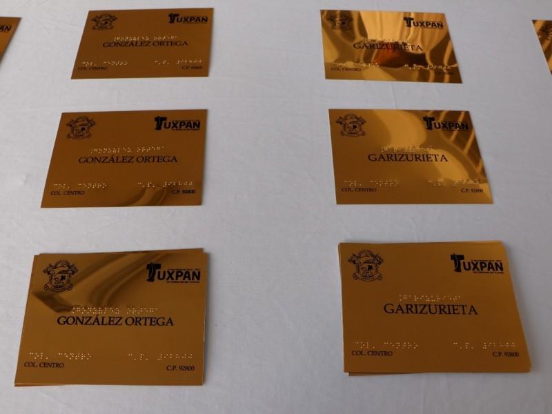 Habrá señalética braille en Tuxpan
