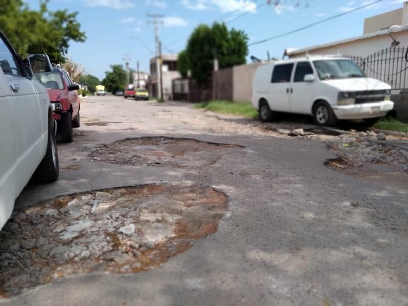 Hace 4 años se mantiene deterioro de calles en Hermosillo