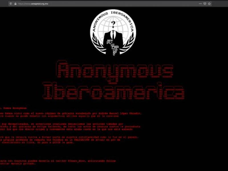 Hackean sitio web del Conapred; Acusan censura del gobierno