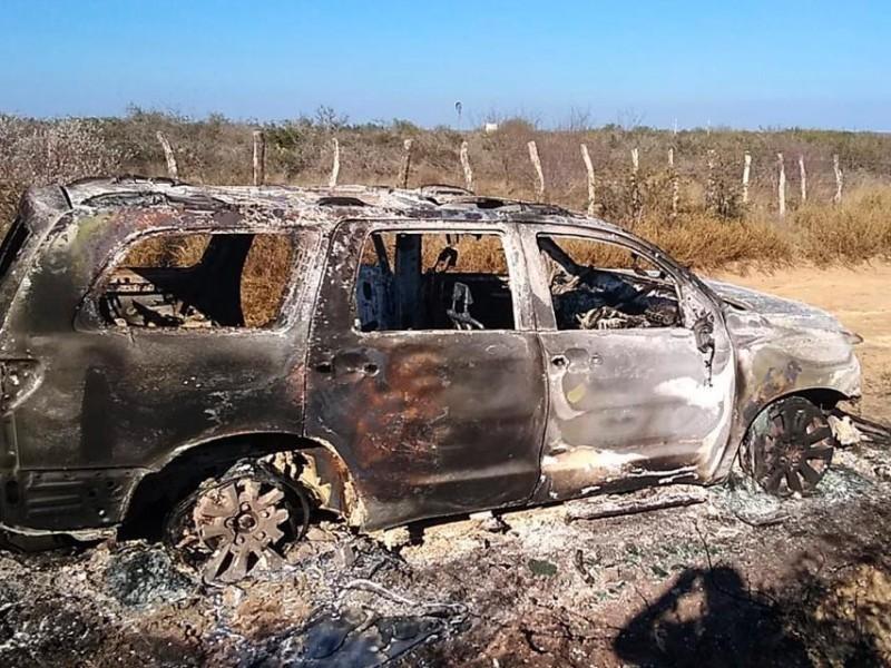 Hallan 19 cuerpos calcinados en el norte de México