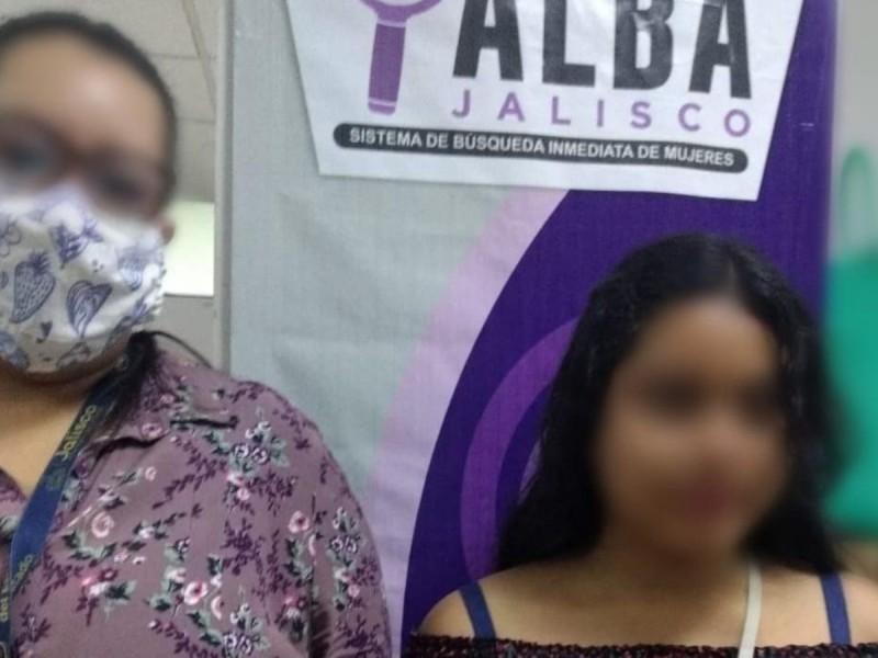 Hallan a joven con reporte de desaparecida en Jalisco