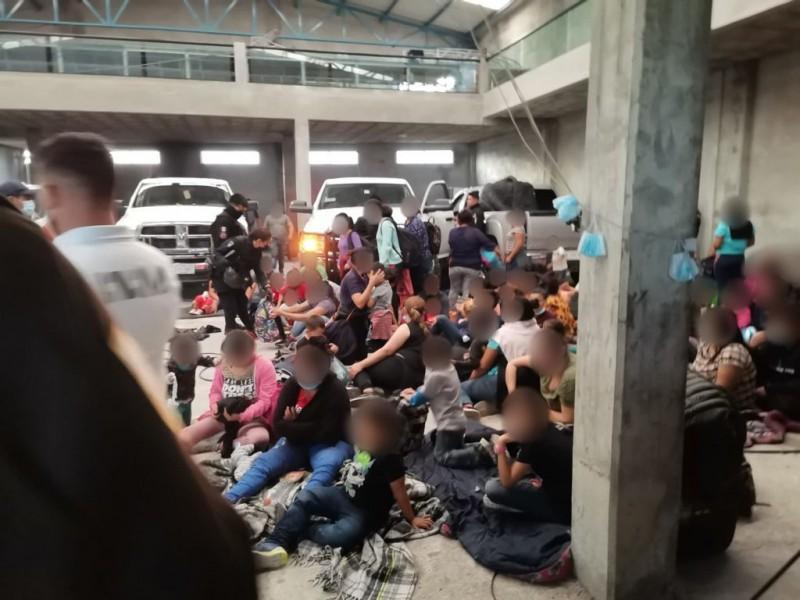 Hallan cerca de 200 indocumentados en San Sebastián Aparicio