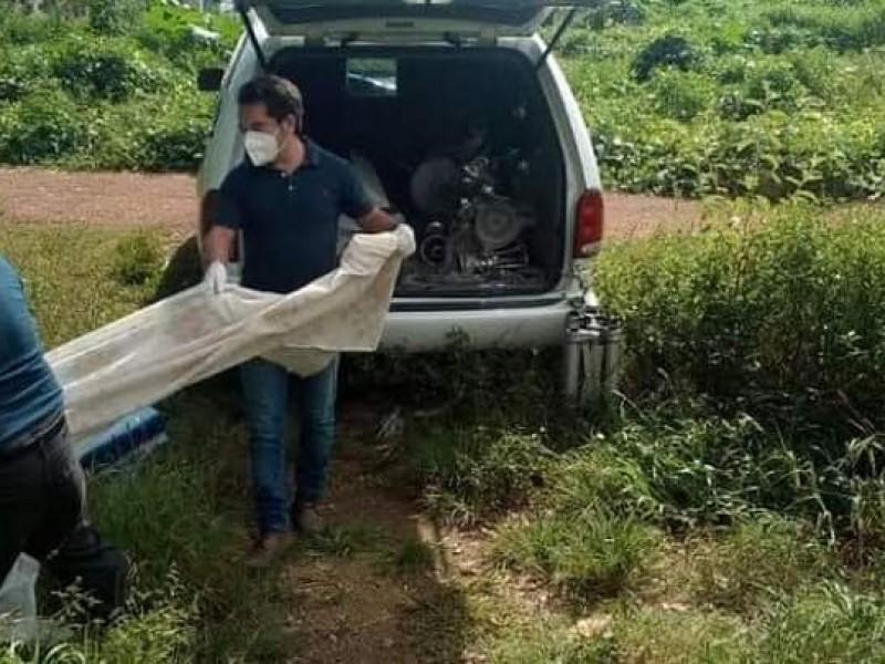 Hallan cuerpos de masculinos en paraje de Izúcar de Matamoros
