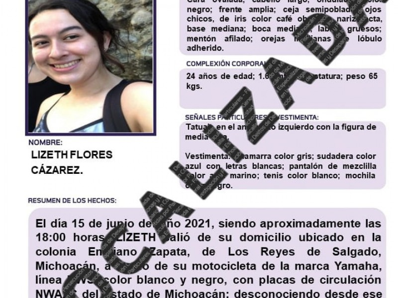 Hallan sin vida en Guadalajara a joven desaparecida en Michoacán