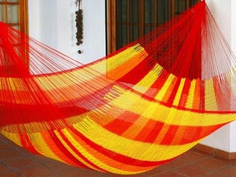 Hamacas artesanales, oficio alterno de habitantes de Juchitán