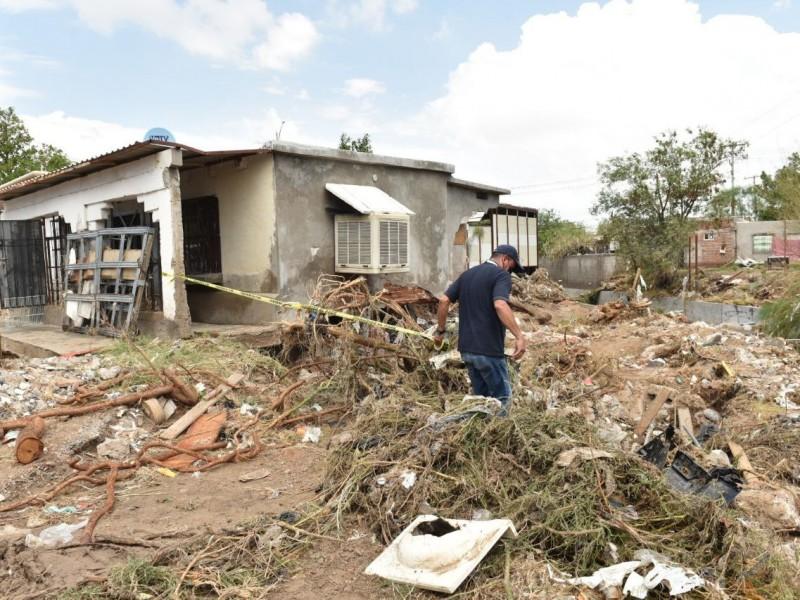 Harán peritaje sobre vivienda dañada por lluvia en Hermosillo