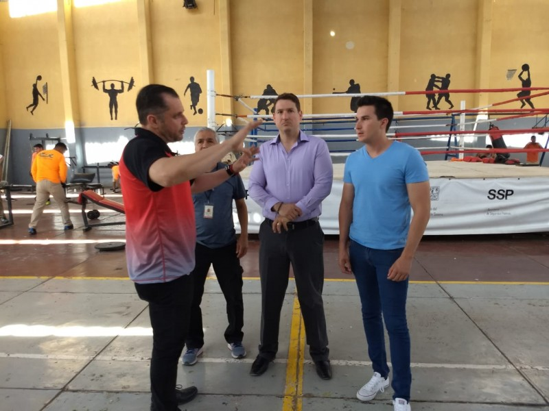 Harán torneo estatal de box en Cereso