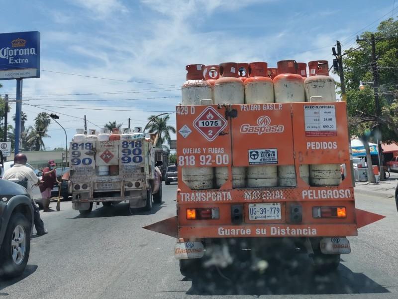 Hasta 149.6 pesos baja costo cilindro de gas en LM