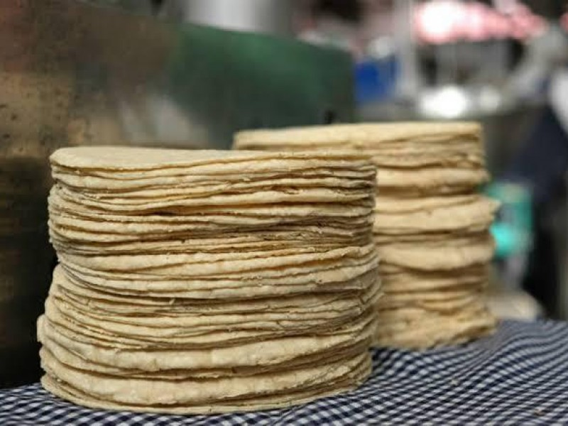 Hasta 26 pesos se registra el kilo de tortilla