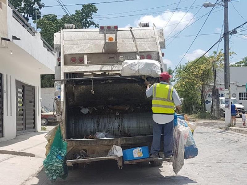 Hasta el jueves se normalizará recolección de basura en Tepic