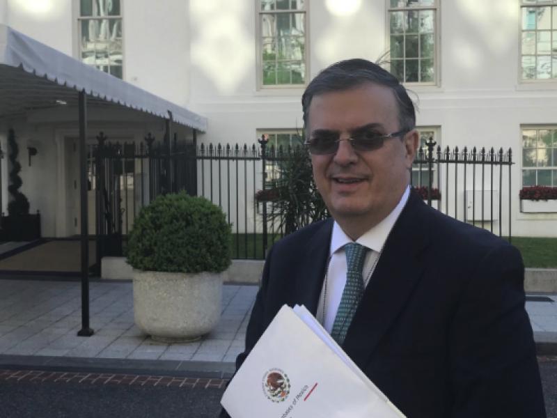 Hasta el miércoles diálogo entre México y EU