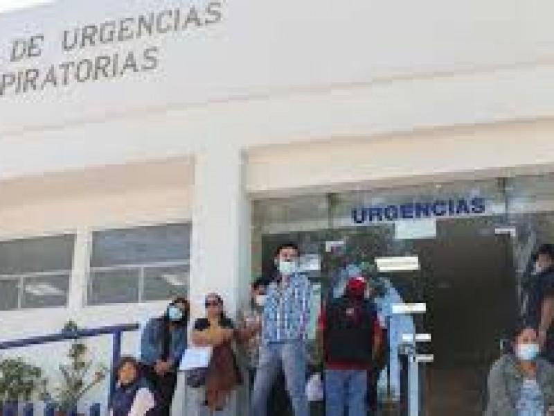 Hay 398 pacientes hospitalizados en el estado de Puebla