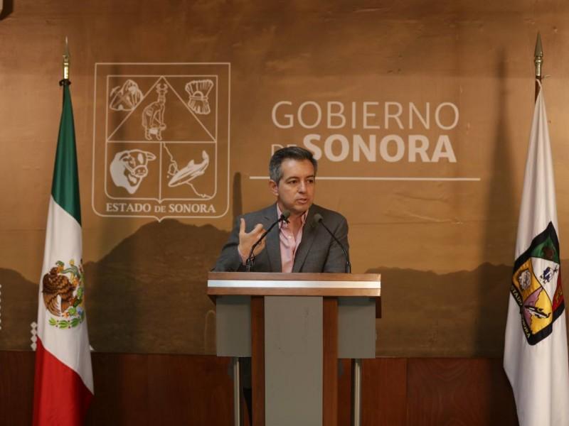 Hay deficit financiero en el gobierno de Sonora; Anuncian plan