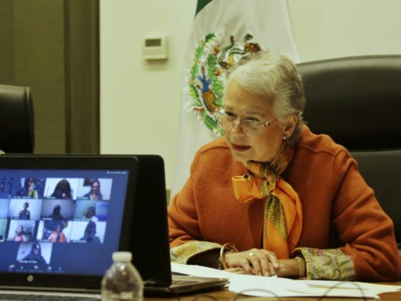 Hay empatía con movimientos feministas: Sánchez Cordero