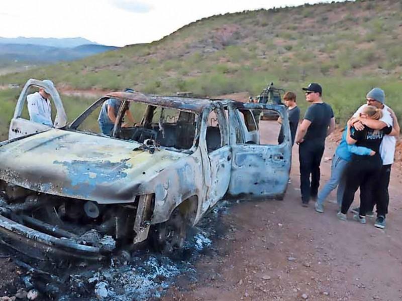 Hay nueve detenidos por masacre a familia LeBarón