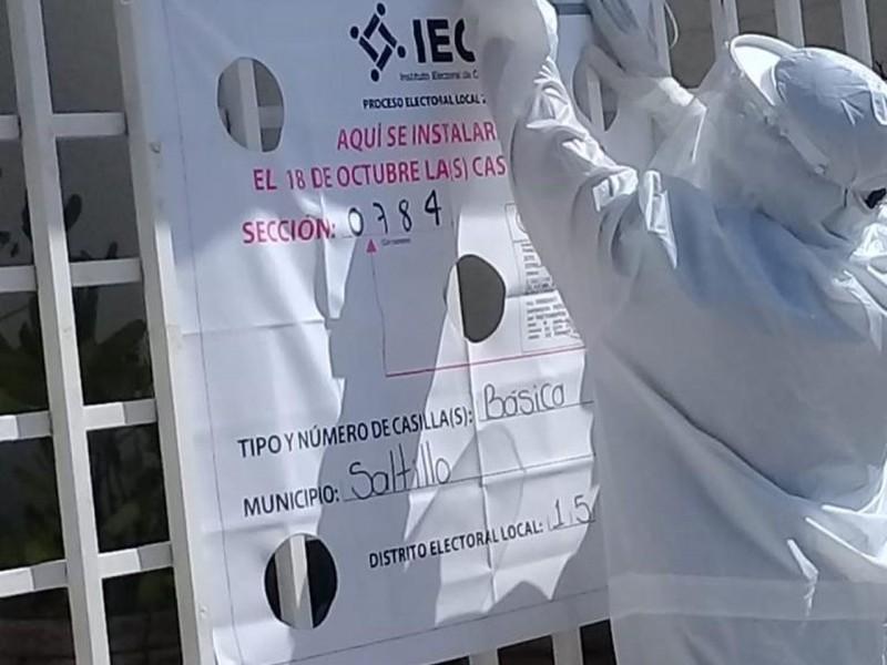 Hay riesgo de rebrote, pero no por elecciones: Salud Coahuila