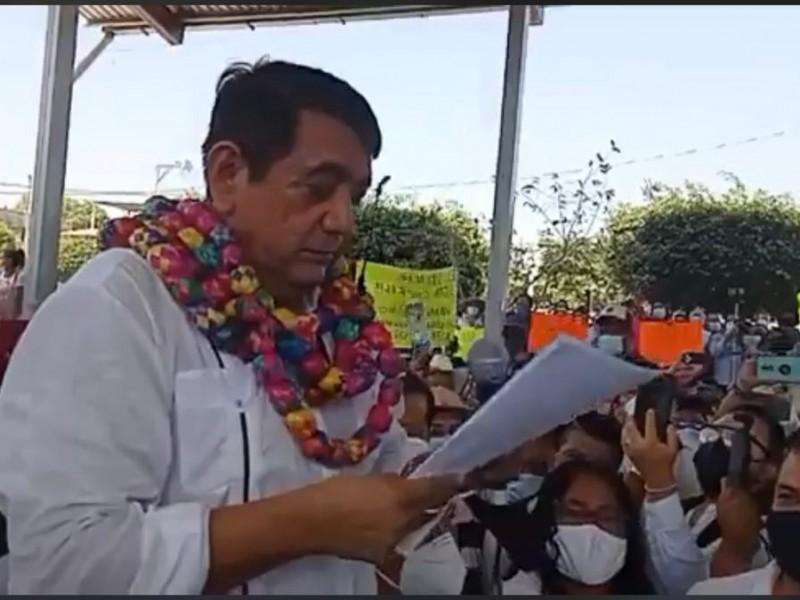 He sido objeto de linchamiento político y mediático: Félix Salgado