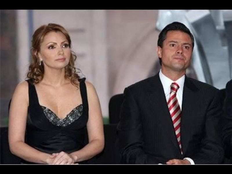 Angélica Rivera anuncia su divorcio con Peña Nieto