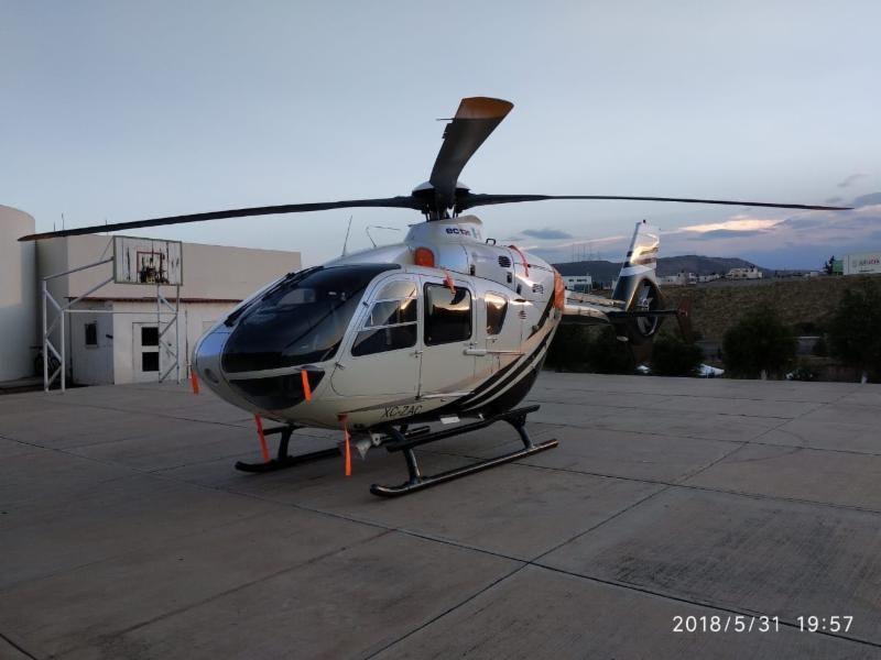 Helicóptero de Tello irá a operativos de seguridad