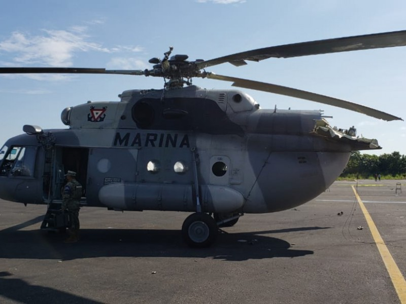 Helicóptero se desploma en Aeropuerto de Villahermosa; hay tres heridos