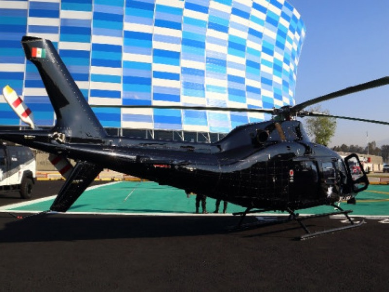 Helicópteros del estado no se venden por falta de mantenimiento