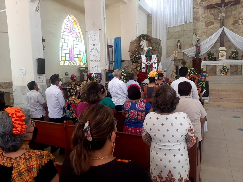 Hermandades con celebración eucarística conmemoran a la Santa Cruz