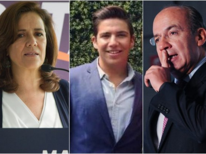 Hijo de Felipe Calderón acusa de