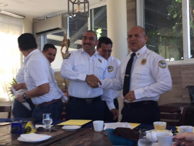 Histórico convenio entre Bomberos de SJC y CSL