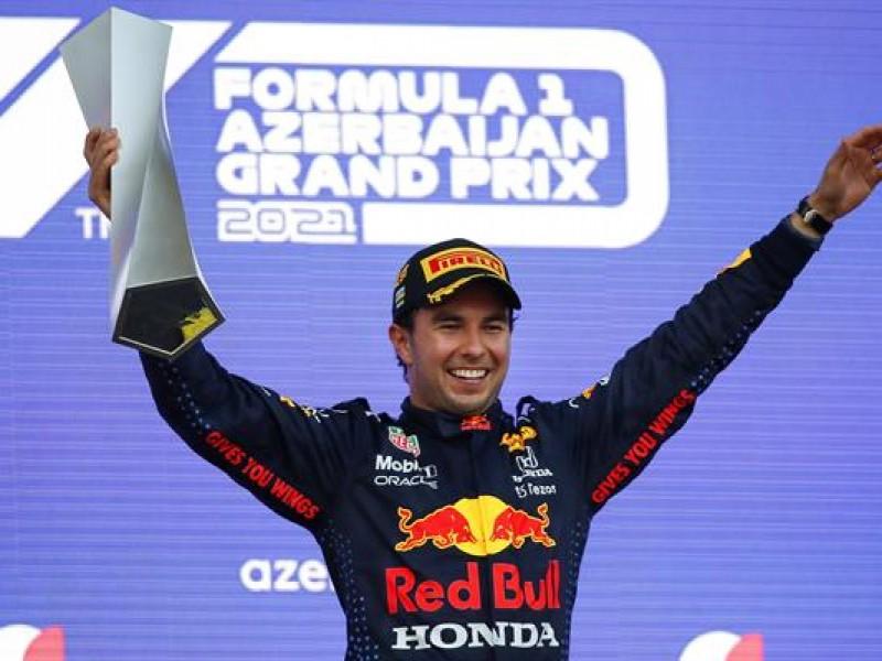 Histórico triunfo de Sergio Pérez en Azerbaiyán