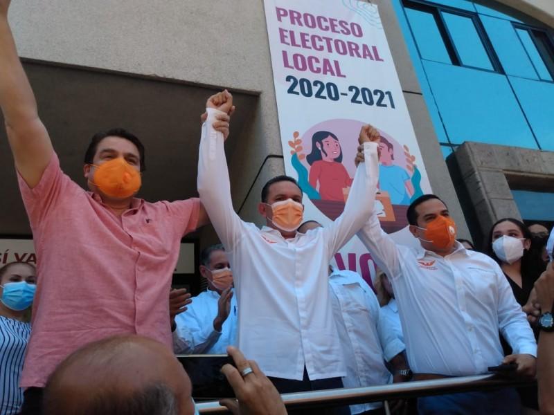 Hoja de resultados respalda mi candidatura: Sergio Torres Félix