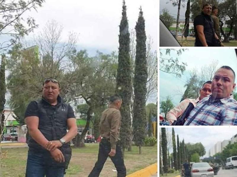 Hombres armados agreden a automovilista en Satélite