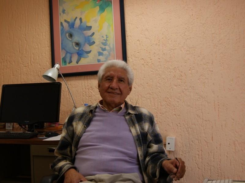 Homenaje a Octavio Cardona en el INAOE